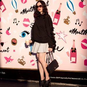 Dresses & Skirts - Gray Ruffled Faux Leather Mini Skirt
